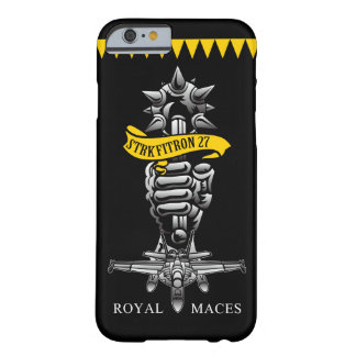 """U.S.NAVY/VFA-27 """"Royal Maces"""" iPhone 6 Cass Barely There iPhone 6 Case"""