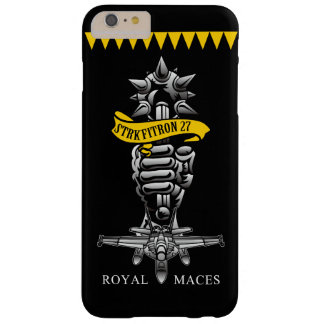 """U.S.NAVY/VFA-27 """"Royal Maces"""" iPhone 6plus Cass Barely There iPhone 6 Plus Case"""