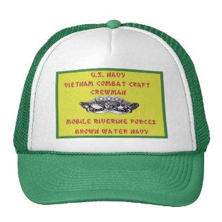 U.S. NAVY VIETNAM COMBAT CRAFT CREWMAN CAP