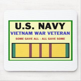 U.S. NAVY VIETNAM WAR VETERAN MOUSE MAT