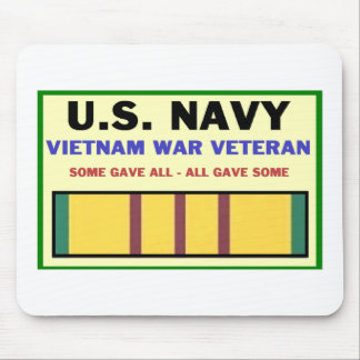 U.S. NAVY VIETNAM WAR VETERAN MOUSE PAD