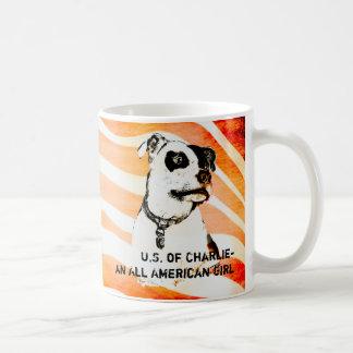 U.S. of Charlie- An All American Girl - Coffee Mug