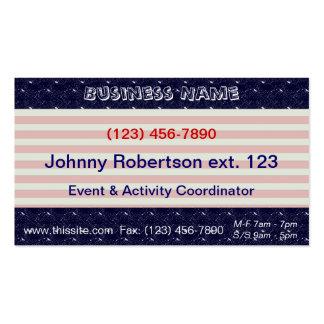 U.S. Patriotic Celebration of National Holidays Pack Of Standard Business Cards