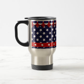 U.S. Patriotic Celebration of National Holidays Stainless Steel Travel Mug