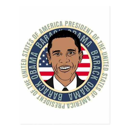 U.S. President Barack Obama Postcard
