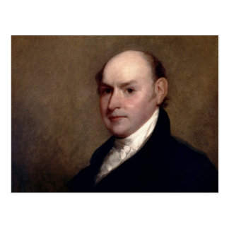 U.S. President John Quincy Adams by Gilbert Stuart Postcard