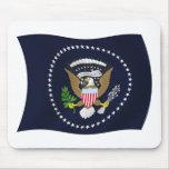 U.S. Presidential Seal Flag Mousepad