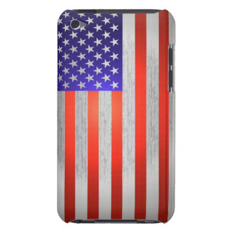 U.S. Red, Silver and Blue Ipod Touch Case