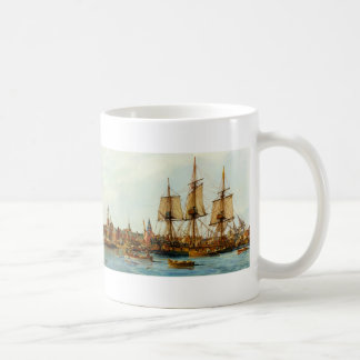 U.S.S. Alfred Navy Ship by Nowland Van Powell Basic White Mug