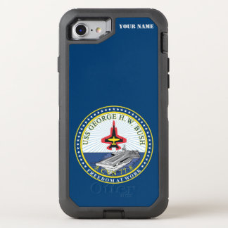 U.S.S. GEORGE H. W. BUSH OtterBox DEFENDER iPhone 7 CASE