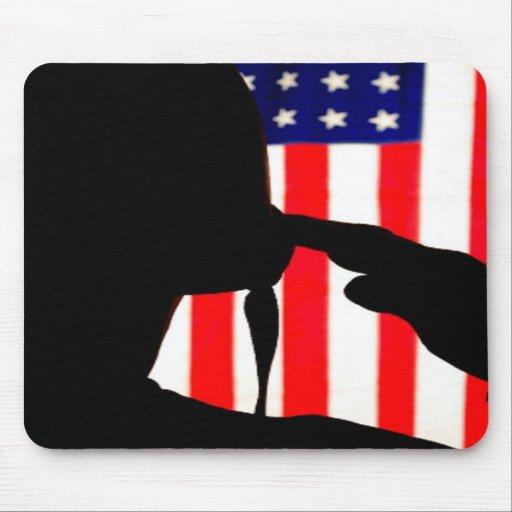 U.S. Soldier Silhouette Mousepad