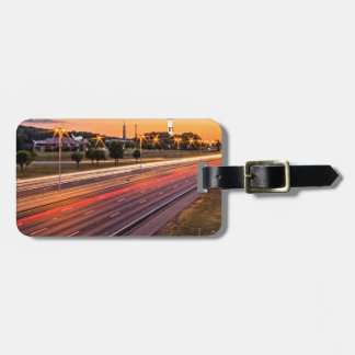 U.S. Space and Rocket Center at Sunset Bag Tags