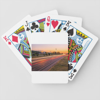 U.S. Space and Rocket Center at Sunset Bicycle Card Decks