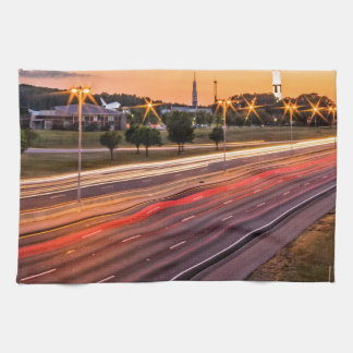 U.S. Space and Rocket Center at Sunset Towel