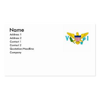 U.S. Virgin Islands Business Card