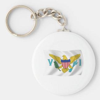 U.S. Virgin Islands Flag Keychain