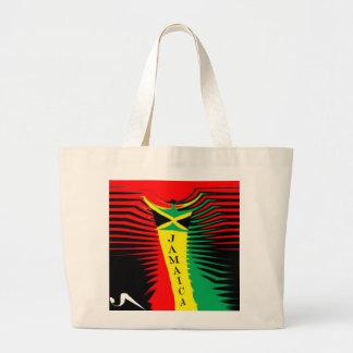 U Seet Jamaica Rebel Tote Bag