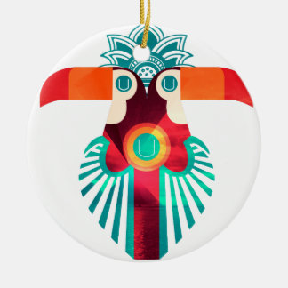 U Toucan Round Ceramic Decoration