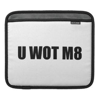 U WOT M8 iPad SLEEVES