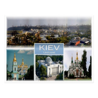UA Ukraine - Kiev - Kyiv - Postcard