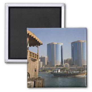 UAE, Dubai, Dubai Creek. Dhow cruises channel Magnet