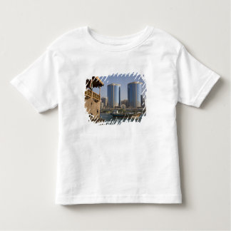 UAE, Dubai, Dubai Creek. Dhow cruises channel Toddler T-Shirt