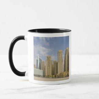 UAE, Dubai, Marina. Jumeirah Beach Residence Mug