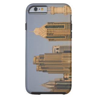 UAE, Dubai. Minaret of mosque in Al Wasl, with Tough iPhone 6 Case