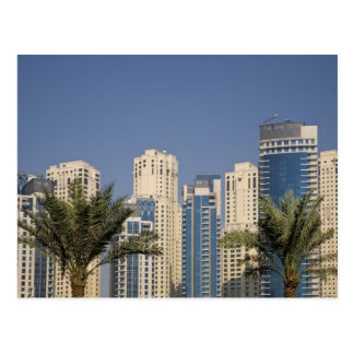UAE, Dubai. Towers of Jumeirah Beach Residence Postcard