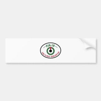 UAEAF Patch Sqn United Arab Emirates Air Force FA Bumper Sticker