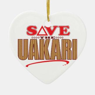 Uakari Save Christmas Ornament