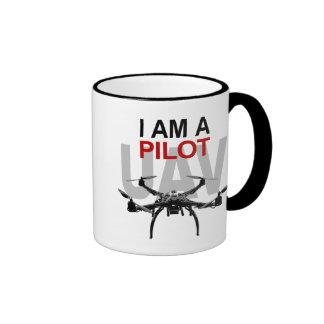 UAV Quadpilot Quadcopter Pilot Ringer Mug