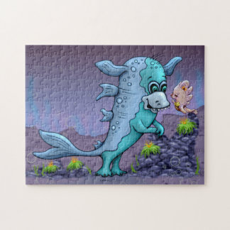 UBA CUTE ALIEN CARTOON PUZZLE 11 X 14