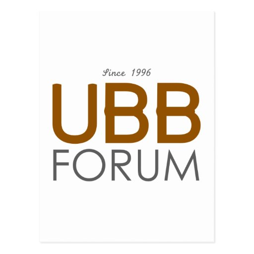 UBB Forum Swag Post Cards