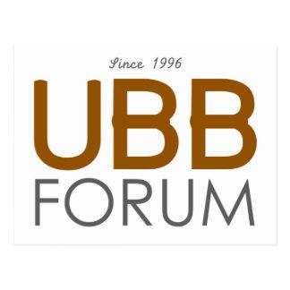 UBB Forum Swag Postcards