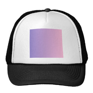 Ube to Cotton Candy Vertical Gradient Hat