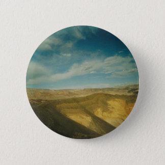 Ubehebe Crater- Death Valley 6 Cm Round Badge