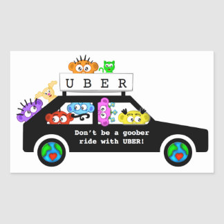UBER - Goober sticker