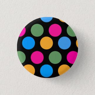 Uber Polka 3 Cm Round Badge