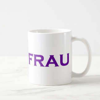 Uberfrau - Superwoman! Coffee Mug