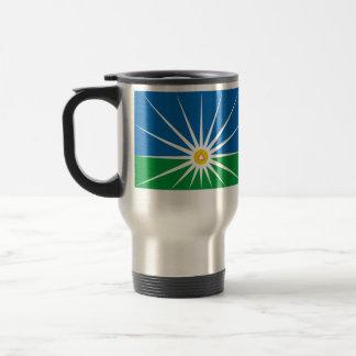 Uberlandia Minasgerais Brasil, Brazil flag Travel Mug