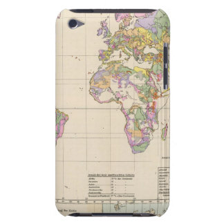 Ubersicht der Erde - Overview of the Earth Map Barely There iPod Case