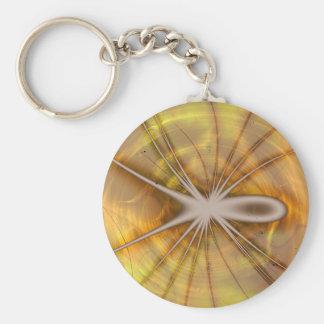 Ubiquitous Toxin Basic Round Button Key Ring