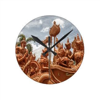 Ubon Ratchathani Candle Festival Travel Clock