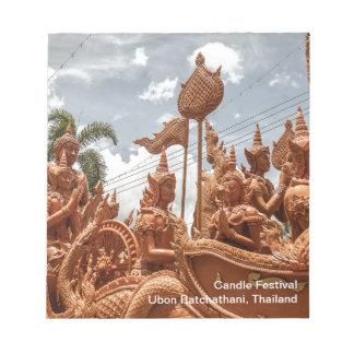 Ubon Ratchathani Candle Festival Travel Notepad