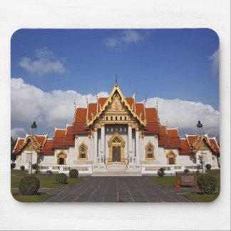 Ubosot Hall or Bot, Wat Benchamabophit, Bangkok, Mouse Pad