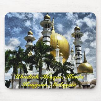 Ubudiah Mosque Kuala Kangsar Perak Malaysia Mousepads