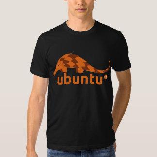ubuntu 12.04 precise pangolin t shirt