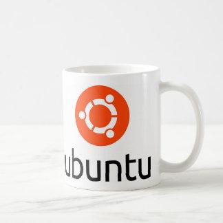 Ubuntu Linux Logo Basic White Mug