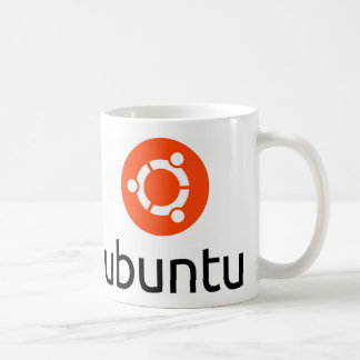 Ubuntu Linux Logo Classic White Coffee Mug